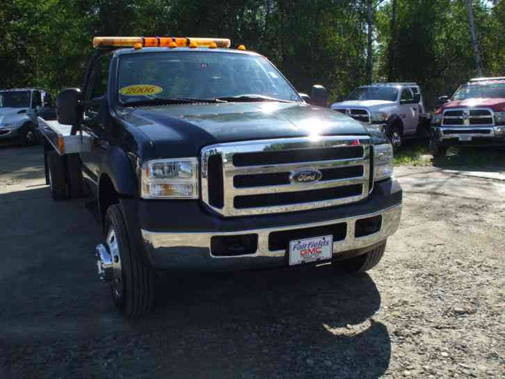 Ford F-550 XLT 2 Car Carrier Only 40k. miles (2006)