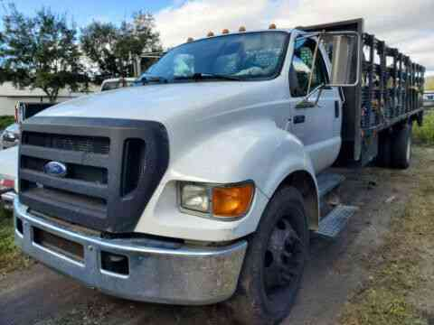 FORD F650 FLATBED DIESEL DUALLY (2006)
