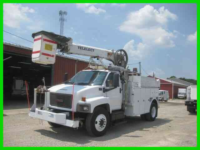 GMC C8500 C7 CAT ALLISON AC WITH TELELECT TP40 CABLE PLACER (2006)
