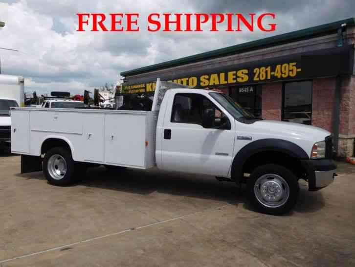 FORD F-550 UTILITY SERVICE TRUCK WITH COMPRESSOR 6. 0L (2007)