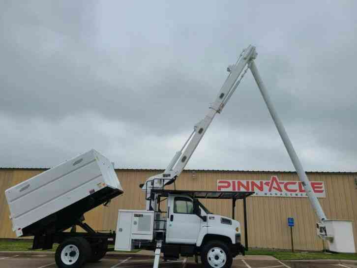 GMC C7500 ALTEC FORESTRY TRUCK (2008)