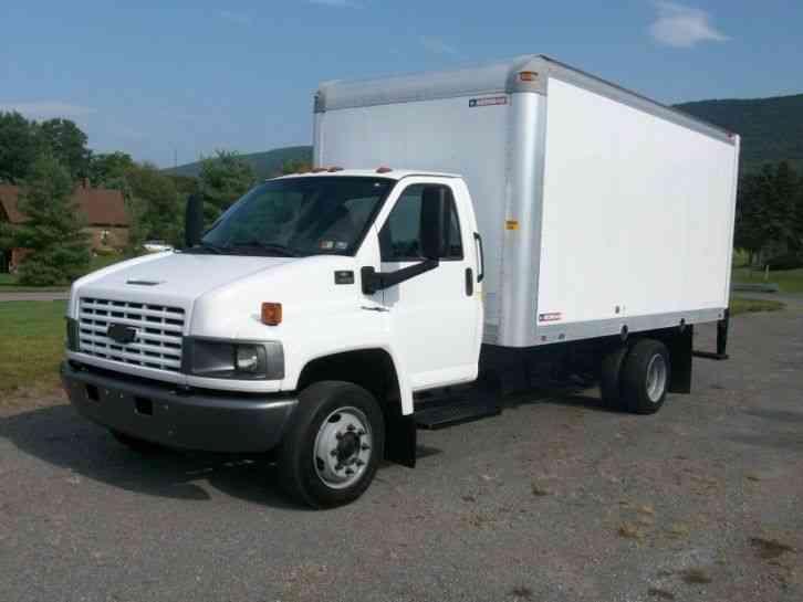 p30 Chevy diesel step van (1995) : Van / Box Trucks
