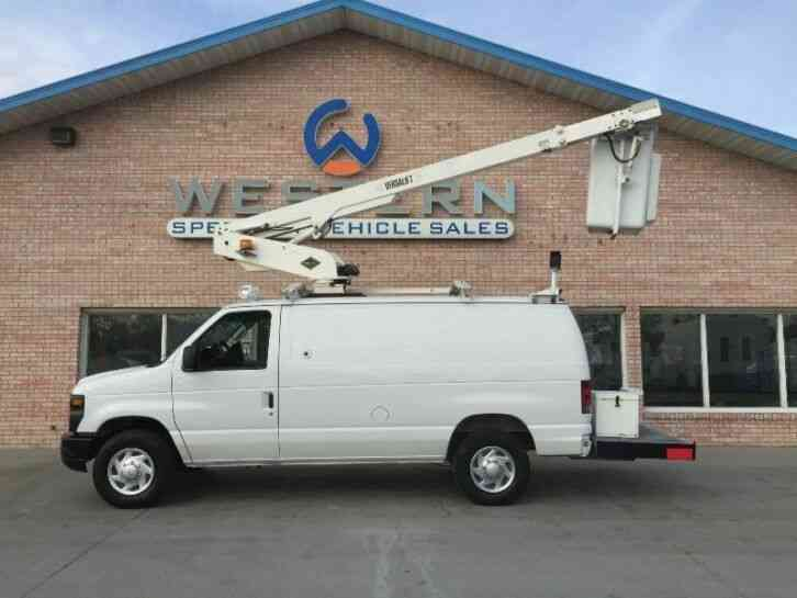 Ford E350 Bucket Van (2008)