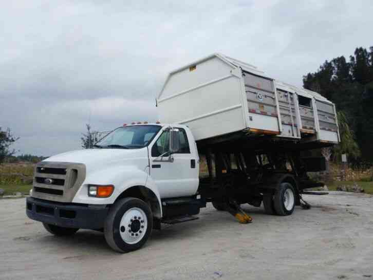 Ford F-750 Super Duty Recycle Truck (2008)