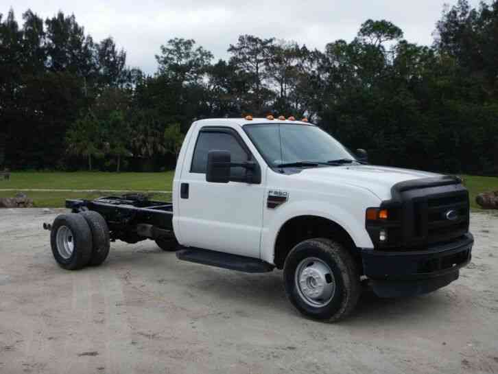 Ford F-350 Super Duty Cab Chassis (2008)