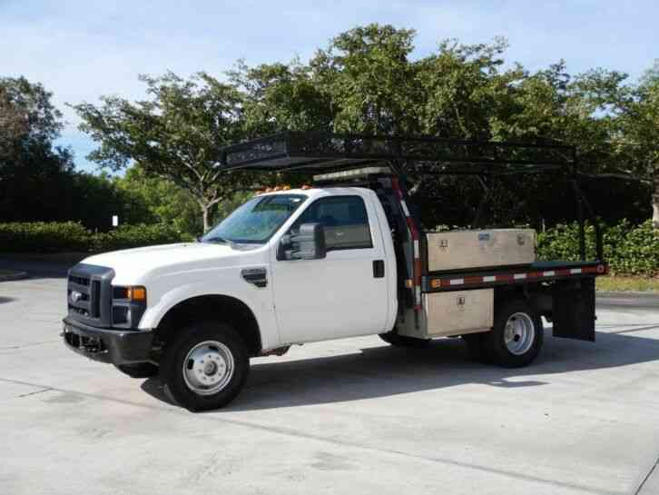 Ford F-350 Super Duty 4X4 Flatbed (2008)