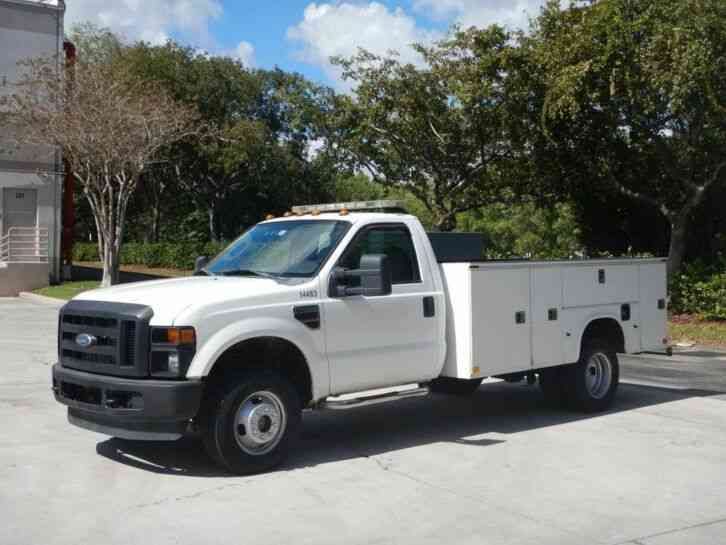Ford F-350 Super Duty Service Utility Truck (2008)