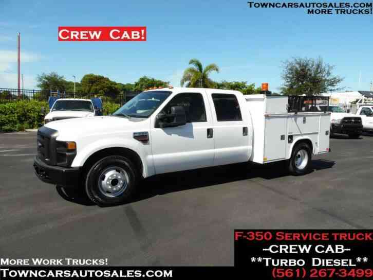 Ford F350 Crew Cab Service Truck (2008)
