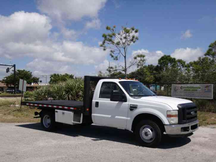 Ford F350 Super Duty Flatbed (2008)