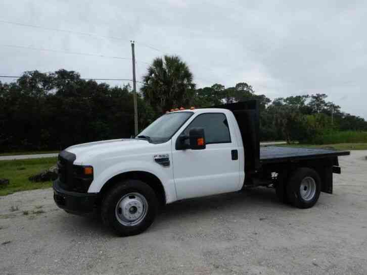 Ford F-350 Super Duty Flatbed Truck (2008)