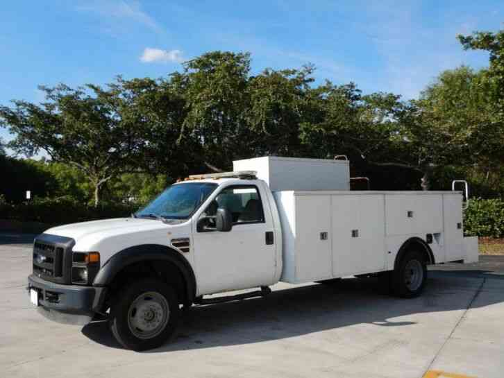 Ford F-550 Super Duty 4X4 Service Utility Truck (2008)