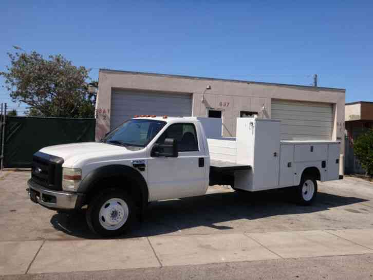 Ford F550 Super Duty Service Utility Truck (2008)