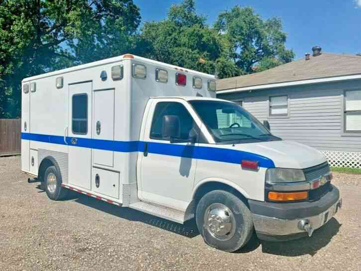 CHEVY AMBULANCE (2010)