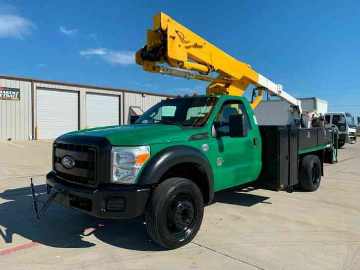 Ford Super Duty F-550 DRW Chassis Cab (2011)