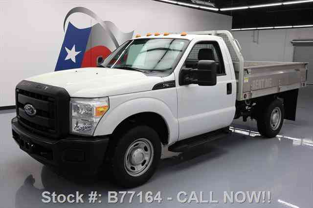 Ford F-350 REGULAR CAB FLAT BED RUNNING BOARDS (2011)