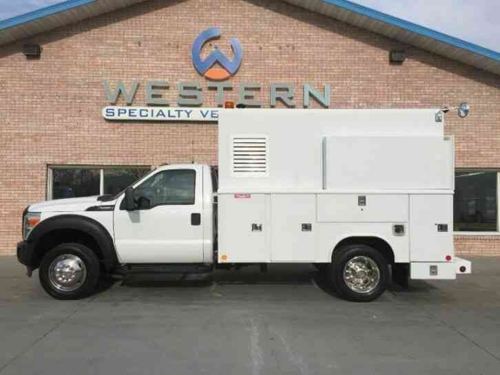Ford F550 Service Truck (2011)