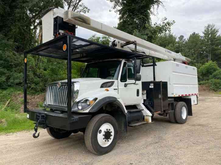 International 7300 4X4 Terex Forestry Bucket Truck (2011)