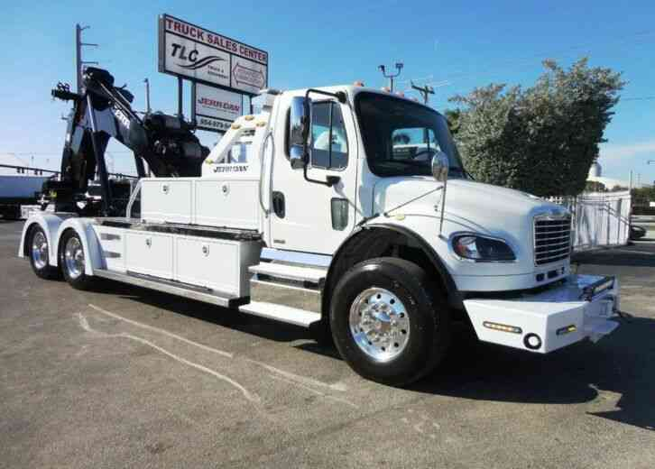 Freightliner BUSINESS CLASS M2 106 *NEW* JERRDAN 25TON NO-BODY STEPSIDE & (2012)
