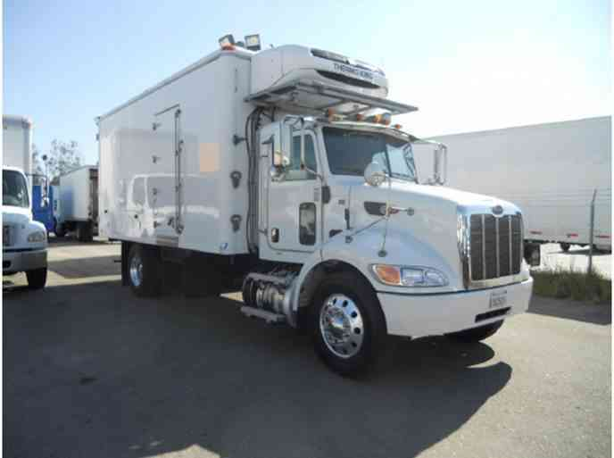 Peterbilt 337, 18ft Johnson Freezer body Only 93k miles, 26, 000# GVWR – under CDL (2012)