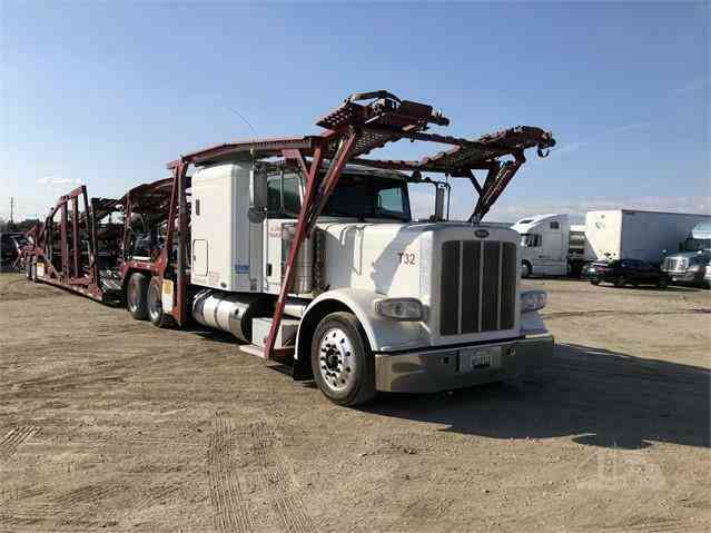 Peterbilt 388 Car Carrier Truck (2012)