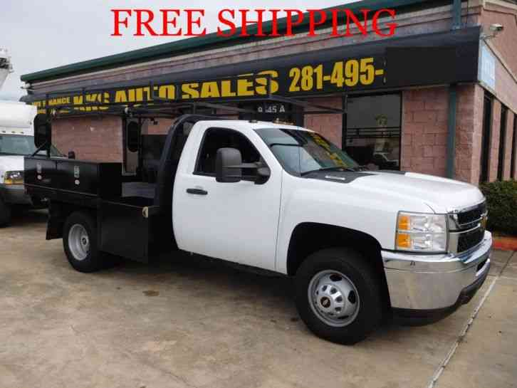 CHEVROLET SILVERADO 3500 HD FLATBED (2013)