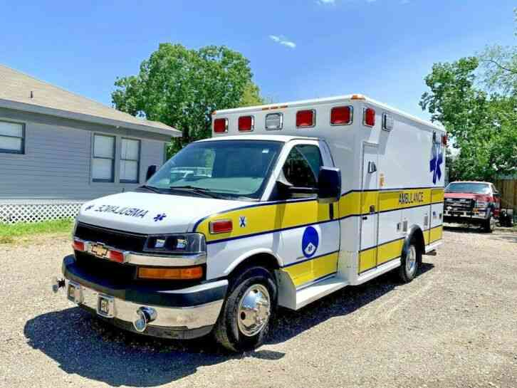 CHEVY AMBULANCE (2013)