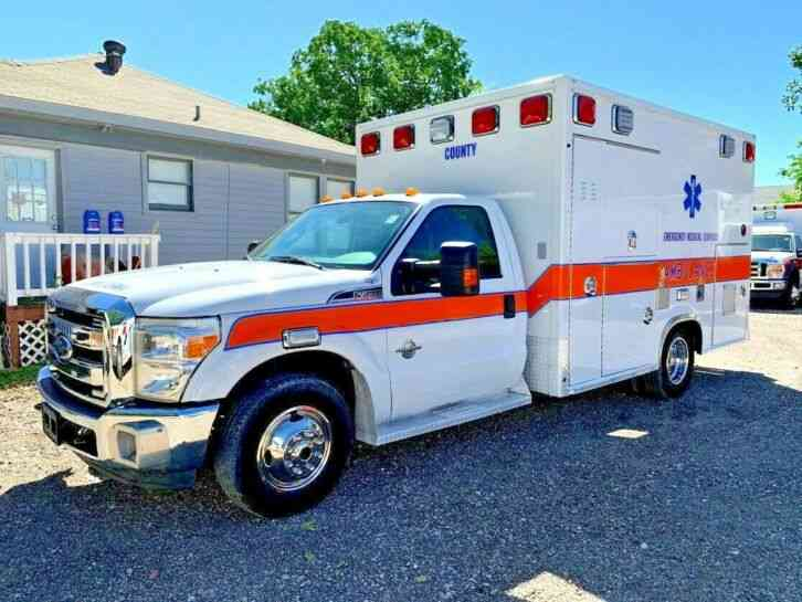 FORD AMBULANCE (2013)