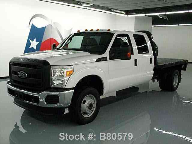 Ford F-350 4X4 CREW 6. 2L V8 DUALLY FLATBED TOW (2013) : Commercial Pickups | Ford F 350 Gooseneck Trailer Wiring Diagram |  | jingletruck.com