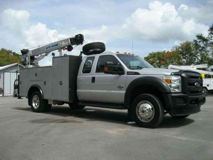 Ford F550 F550 4x4 Super Cab (2013)