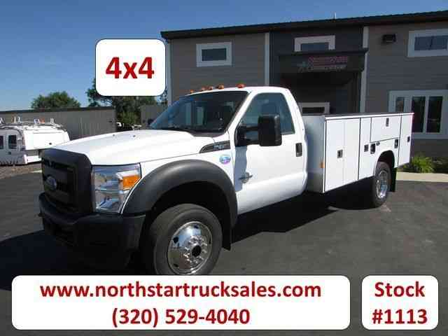 Ford Super Duty F-450 DRW XL (2013)