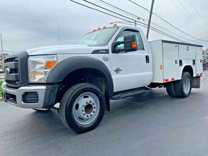 FORD F550 UTILITY TRUCK ONLY 89KMILES 6. 7 DIESEL F550 UTILITY TRUCK ONLY 89K MILES 6. 7 DIESEL (2014)