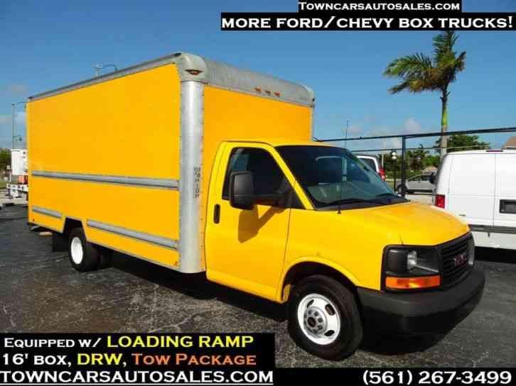 GMC 3500 16 FOOTER BOX TRUCK Box Truck (2014)