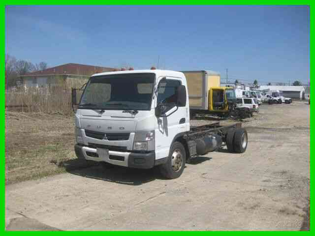 MITSUBISHI FE160 3. 0 DIESEL DUONIC TRANS CAB AND CHASSIS (2014)