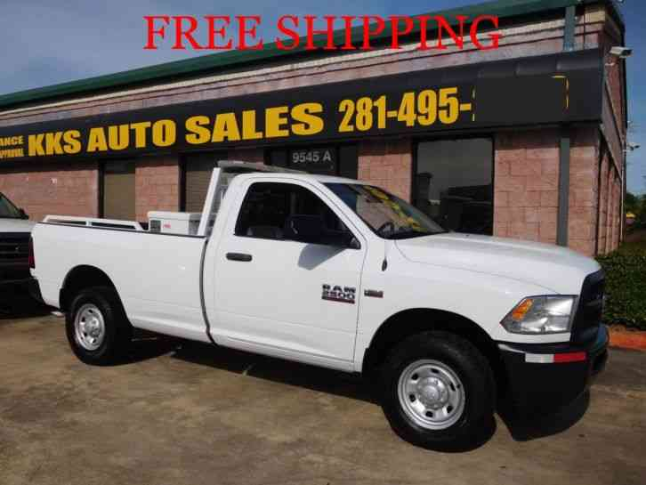 RAM 2500 HEAVY DUTY PICKUP TRUCK WITH UTILITY BOX HEMI (2014)