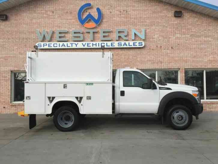 Ford F450 Service Truck 4x4 Utility (2015)