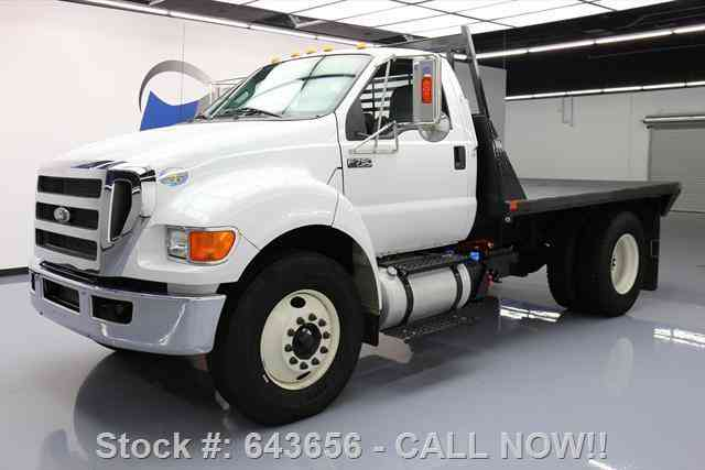 Ford Other Pickups F750 REG CAB DIESEL DAULLY FLATBED TOW (2015)
