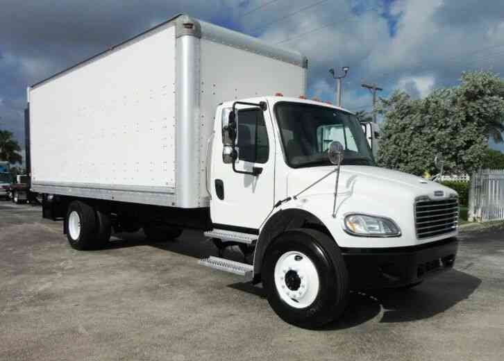 Freightliner BUSINESS CLASS M2 22FT BOX WITH 4, 400LB RAIL LIFTGATE (2018)