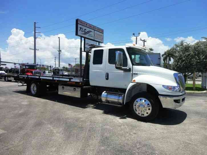 International MV607 22' JERRDAN ROLLBACK TOW TRUCK. 22SRR6TWLP. . 300HP (2021)