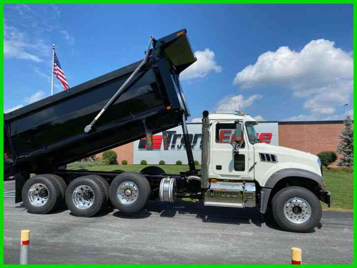 MACK Granite 8X4 Axle Forward (2021)