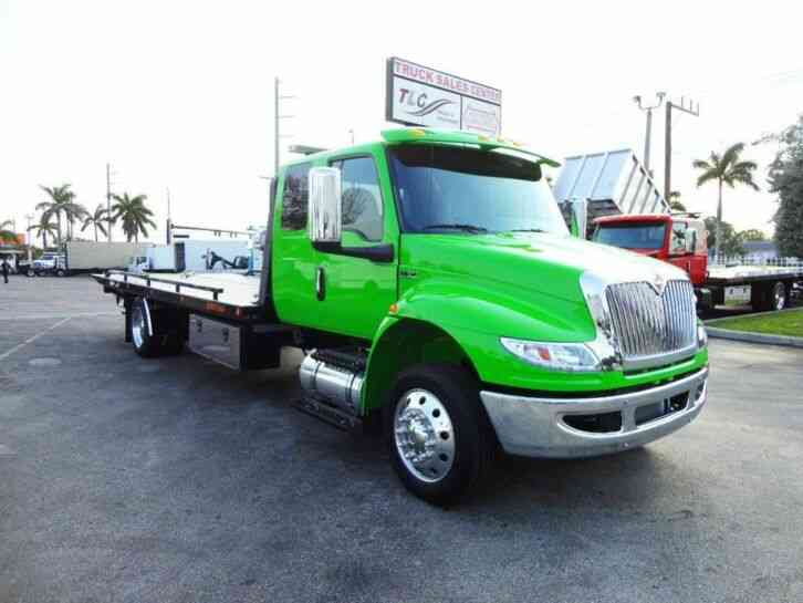 International MV607 22' JERRDAN ROLLBACK TOW TRUCK. 22SRR6TWLP. . 300HP (2022)