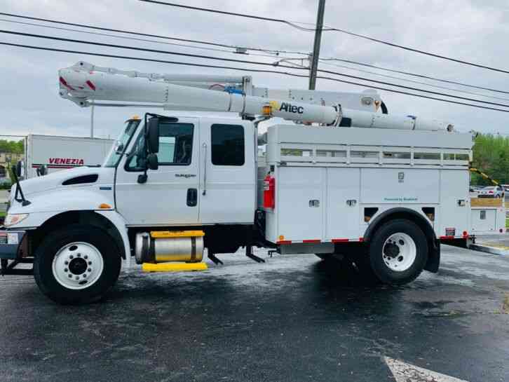 INTERNATIONAL 4300 CREW CAB 47' BUCKET TRUCK BUCKET (2013)