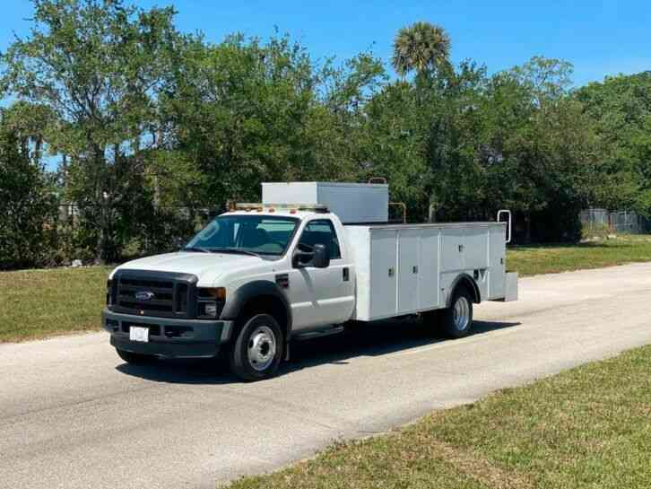 Ford F-550 4X4 Utility Service Truck Service Utility Truck (2008)
