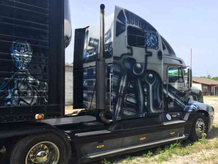 371HP Tractor Trailer Truck With 12.00R20 Tires And HF9