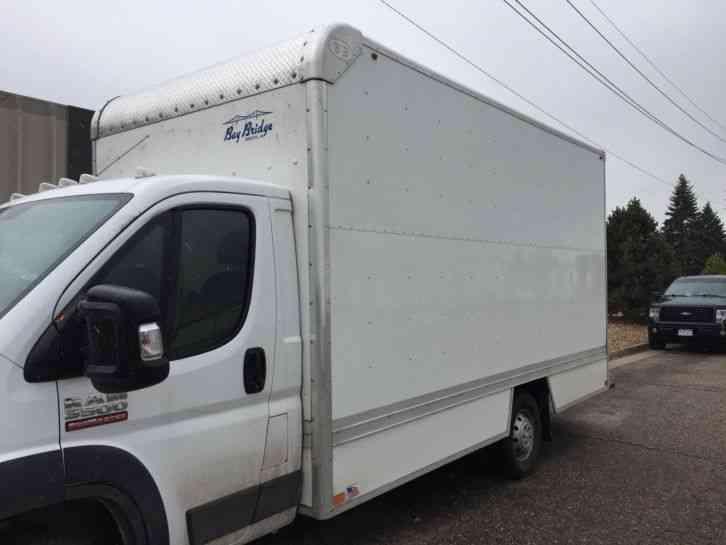 RAM PROMASTER 3500 BOX TRUCK BODY (2017) : Van / Box Trucks