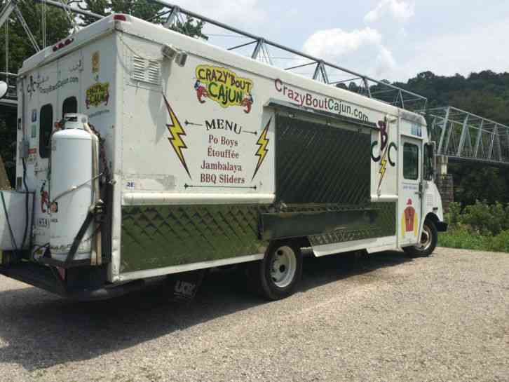GMC Workhorse Food Truck (1999) : Van / Box Trucks