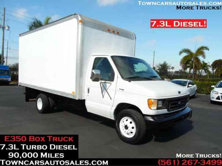 Ford E350 Box Truck 7. 3L Turbo Diesel (1998)