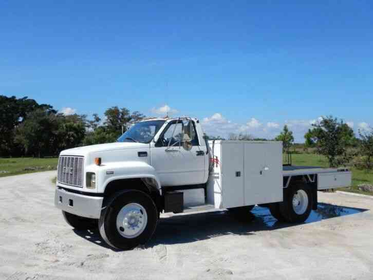 GMC C8500 Flatbed Service Truck (1999)