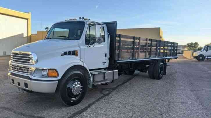 Sterling BY FREIGHTLINER FLATBED ALLISON AUTOMATIC 86K MILE (2007)