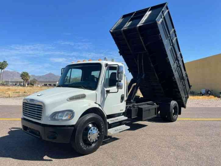 Freightliner 18' FLATBED DUMP TRUCK ONLY 87K MILES AUTOMATIC (2007)