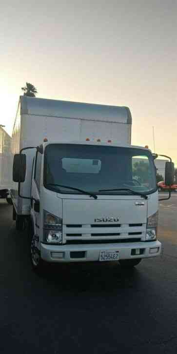 ISUZU NRR 20ft box HI CUBE FURNITURE DELIVERY WARRANTY (2015)